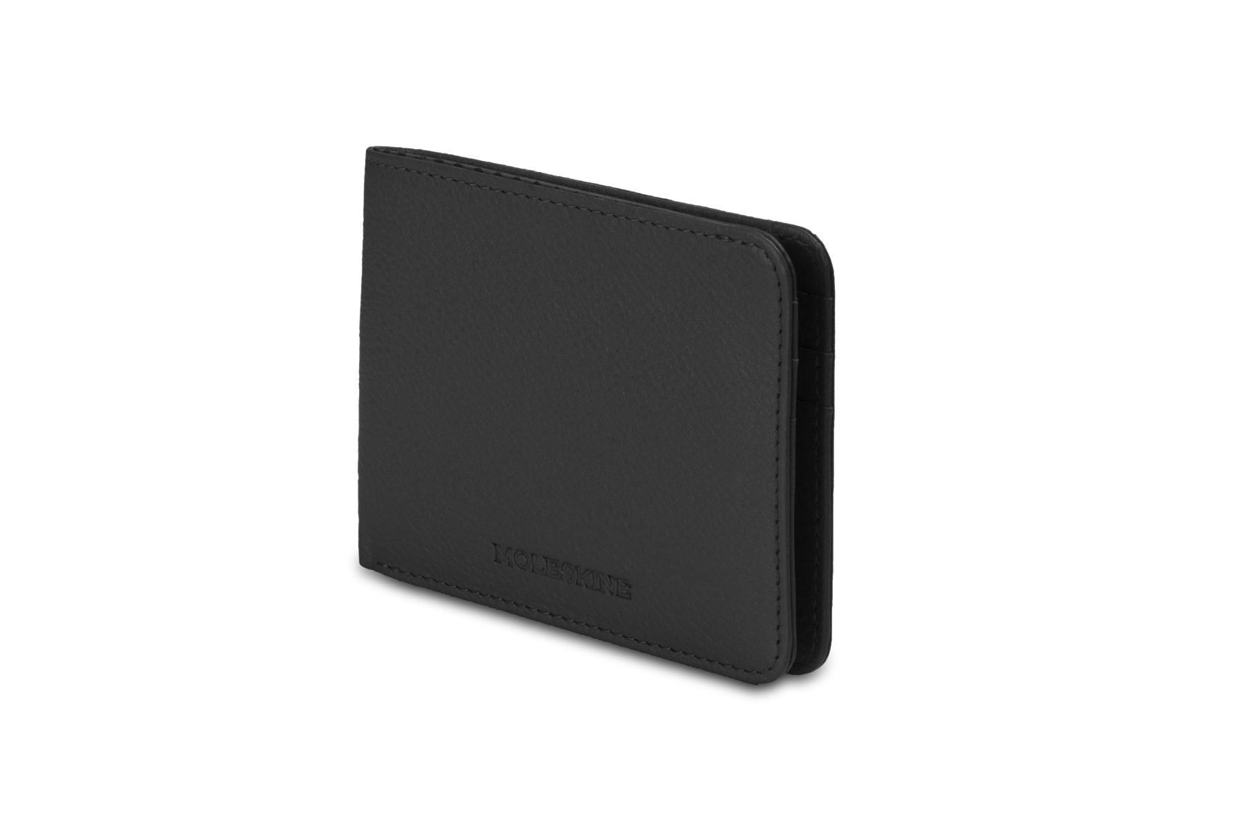 Кошелёк Moleskine Lineage Horizontal Leather, чёрный