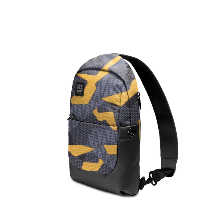 Рюкзак Moleskine ID SLING BACKPACK CAMO, желтый