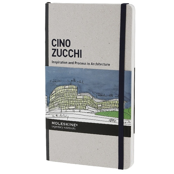 Сборник дизайнерских работ Moleskine Inspiration and Process in Architecture, Cino Zucchi, Large (13х21см)
