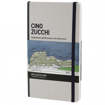 картинка Сборник дизайнерских работ Moleskine Inspiration and Process in Architecture, Cino Zucchi, Large (13х21см) от магазина Молескинов